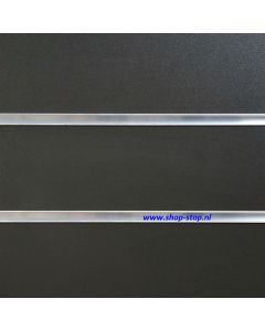 Grafiet-Grijs-Slatwall-paneel  passend bij Ral 7015